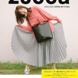 日本雜誌 ZUCCa 2020-2021: OPEN MY EYES【付録】2way單肩袋
