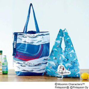 日本雜誌 リンネル 2020年12月号【付録】MOOMIN × フィンレイソン環保袋套裝