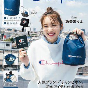 日本雜誌 Champion SPECIAL BOOK -Navy Ver.【付録】戶外防水袋及手提鏡