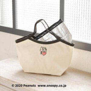 日本 AfternoonTea LIVING x PEANUTS 史路比(SNOOPY)午餐袋連保溫袋