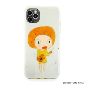 日本 奈良美智 iPhone 11 Pro Max [Guitar Girl] 電話套/電話殼