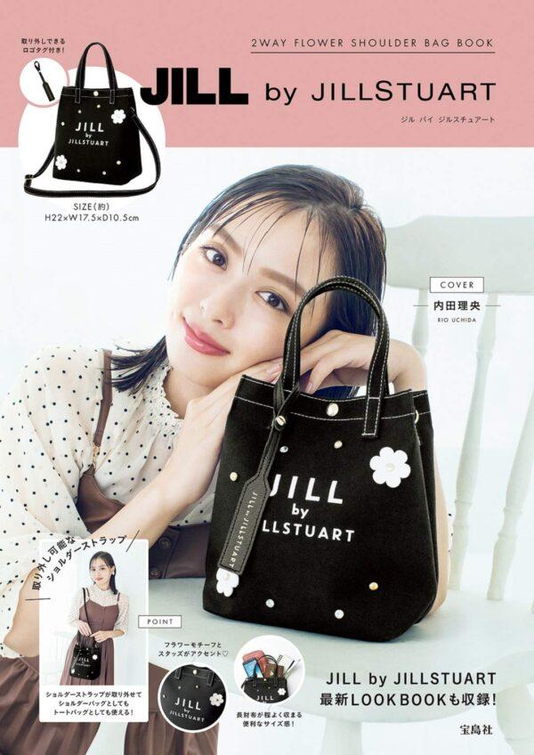 日本雜誌 JILL by JILLSTUART 2WAY FLOWER SHOULDER BAG BOOK【付録】兩用袋